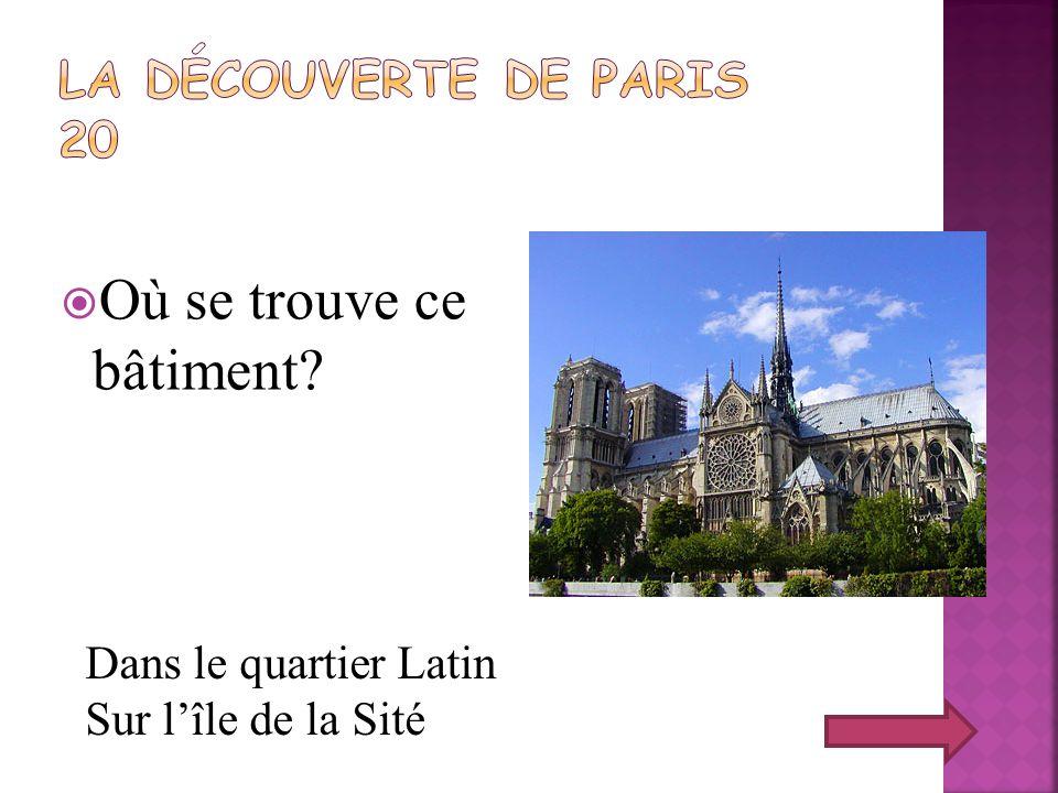 Repondez au question: Quest-ce que cest que le Panthéon.