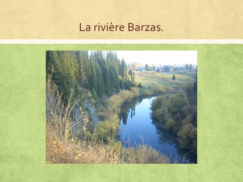 La rivière Barzas.