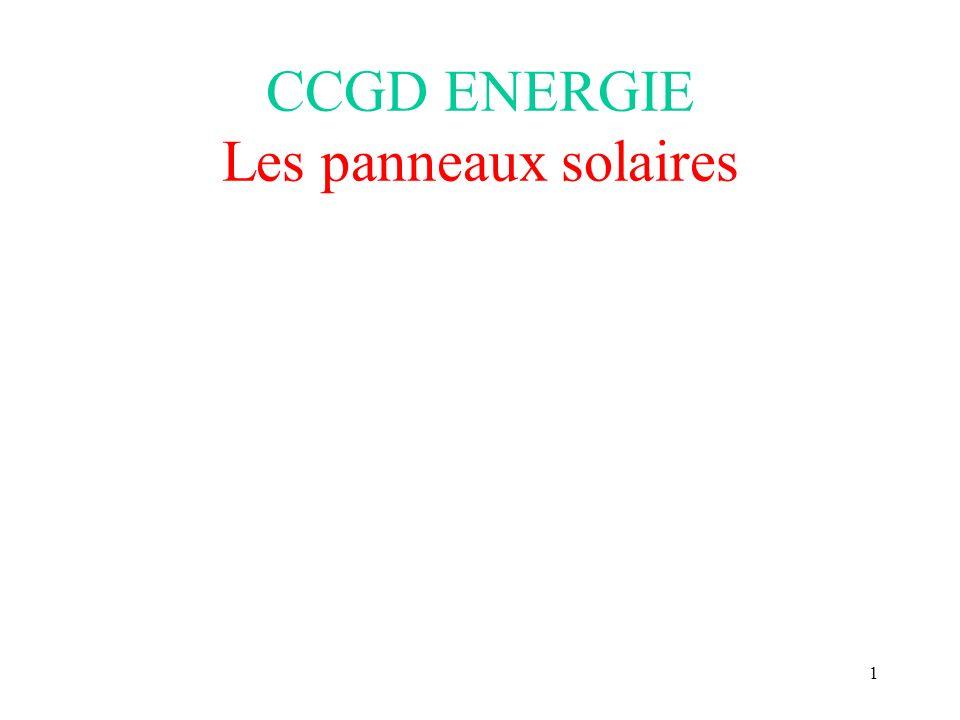 11 Les panneaux solaires thermiques