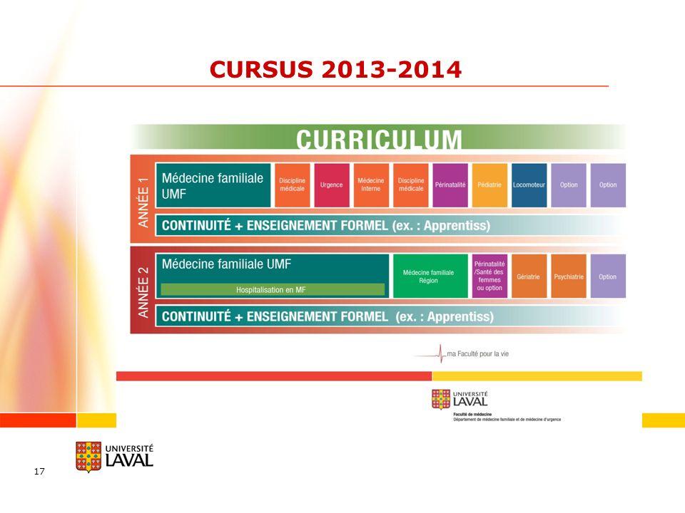 CURSUS 2013-2014 17