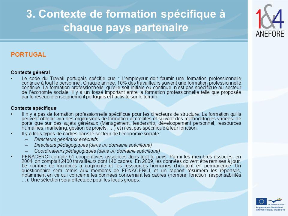 FRANCE Il y a une obligation pour les directeurs dêtre formés pour répondre à lobjectif de formation obligatoire de tous les directeurs dici 10 ans.