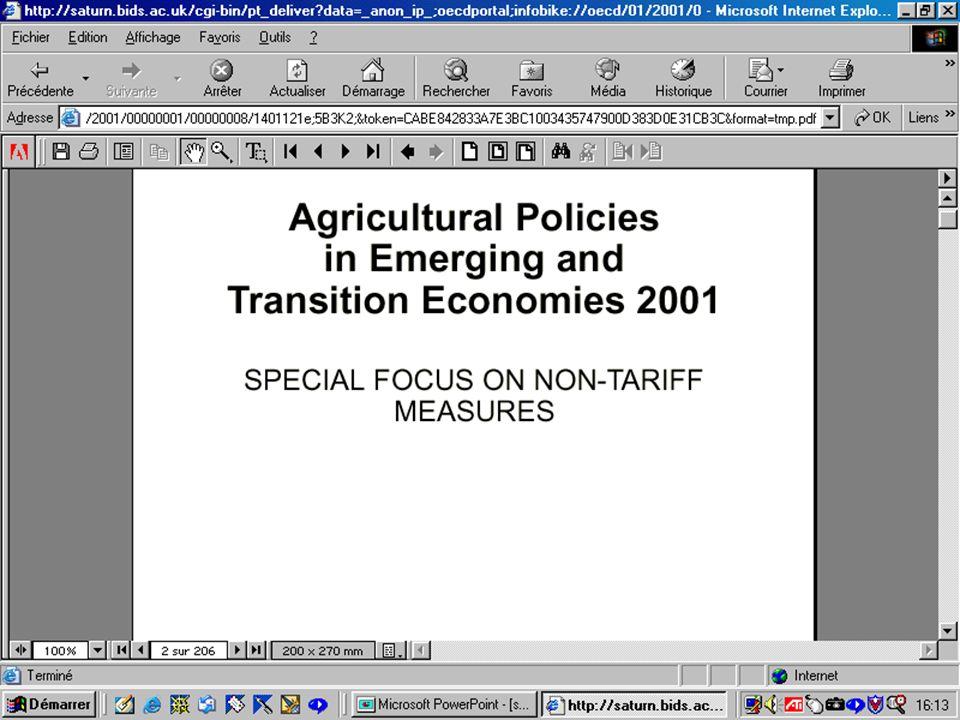 CREPUQ - Présentation de SourceOECD - 15 novembre 2001 40