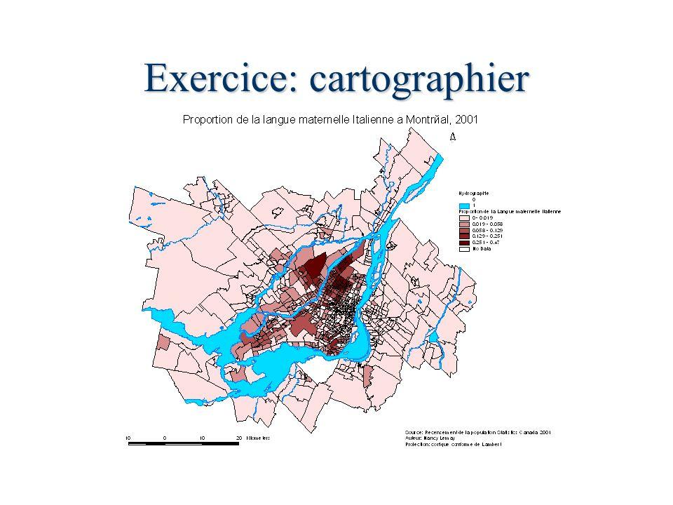 Exercice: cartographier