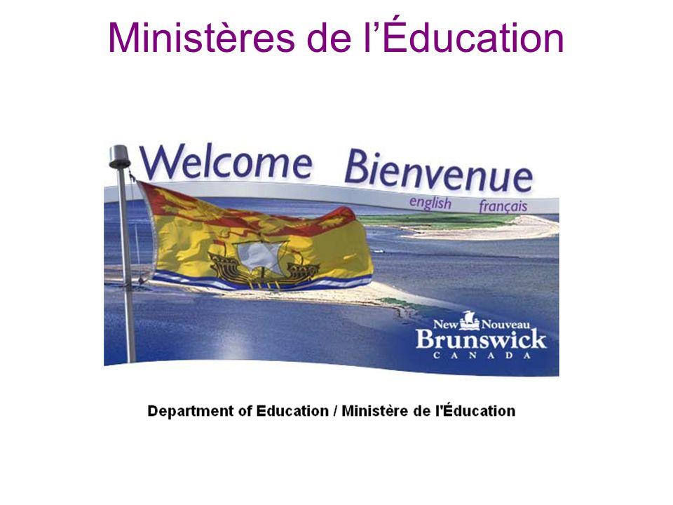 Ministères de lÉducation