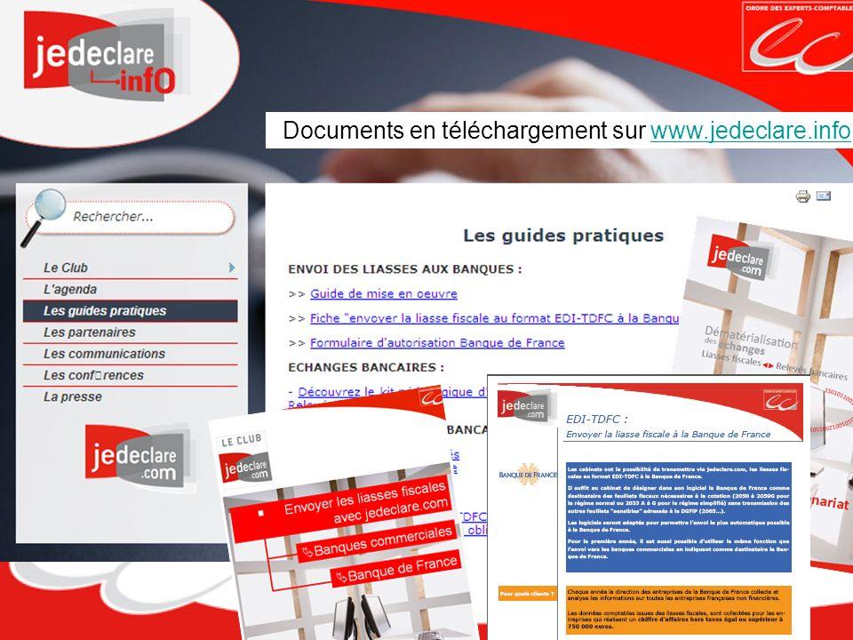Documents en téléchargement sur www.jedeclare.info www.jedeclare.info