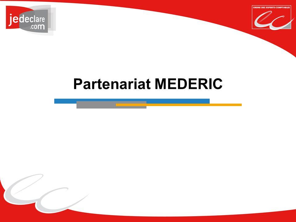 Partenariat MEDERIC
