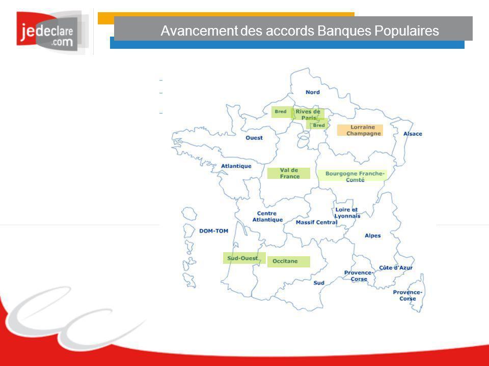 Avancement des accords Banques Populaires