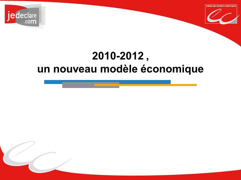2010-2012, un nouveau modèle économique