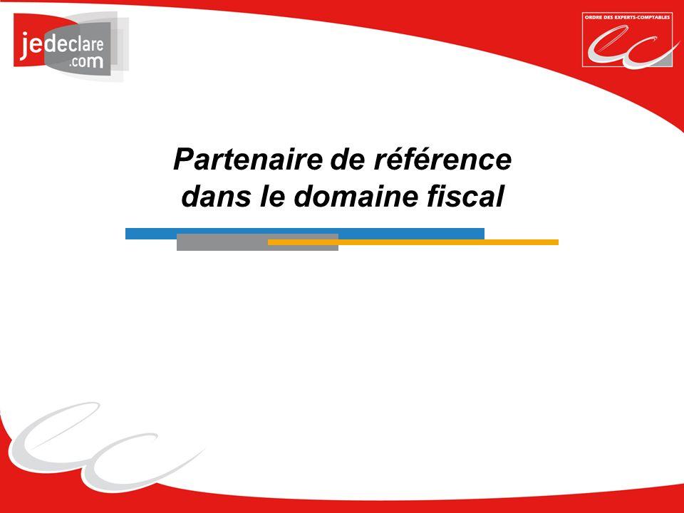 Partenaire de référence dans le domaine fiscal