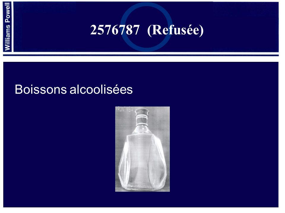 Boissons alcoolisées 2576787 (Refusée)