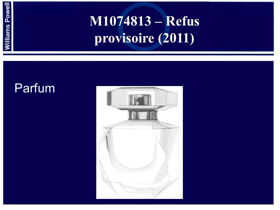 Parfum M1074813 – Refus provisoire (2011)