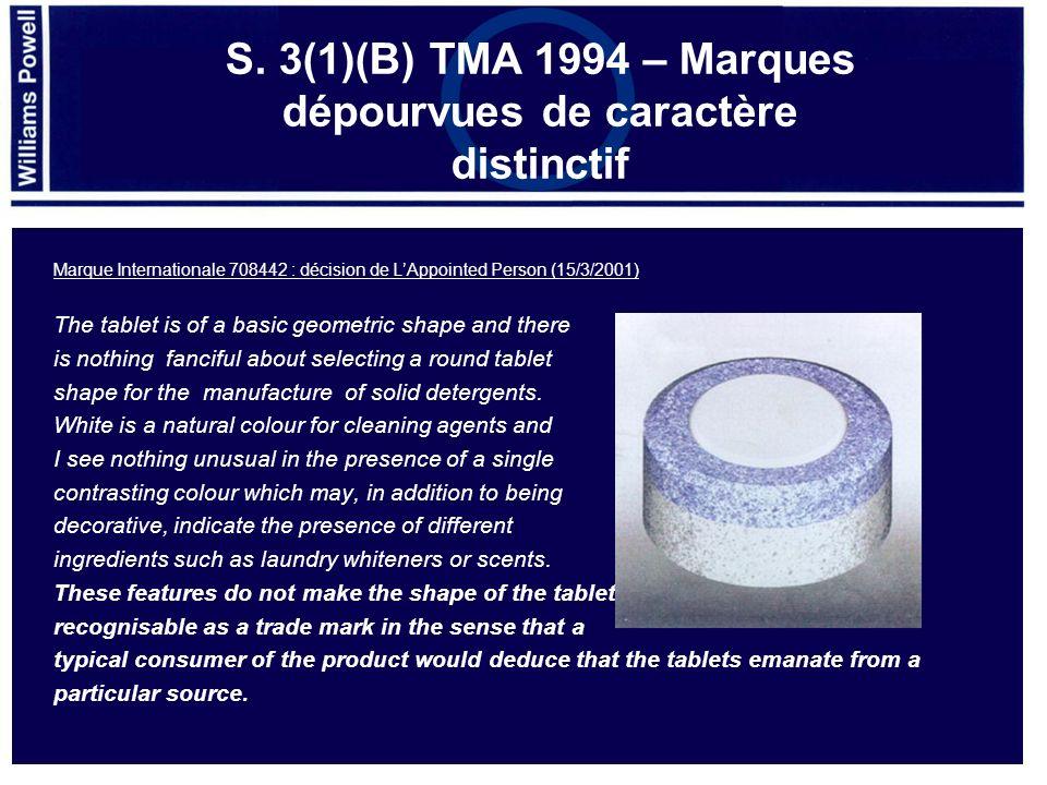Parfum 10690394 – Marque communautaire acceptée 2012