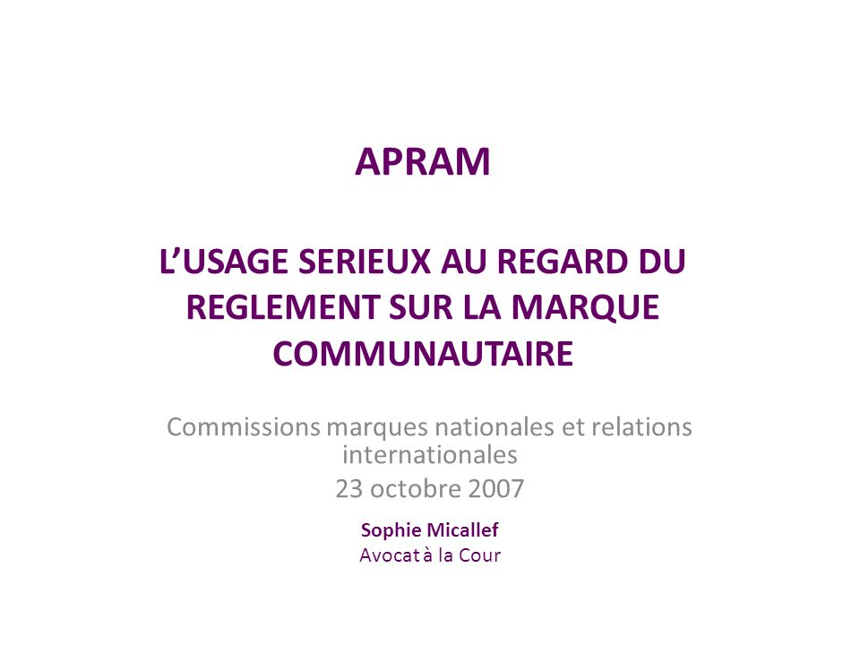 Les textes applicables Article 15 RMC Article 43 RMC Article 50 1.