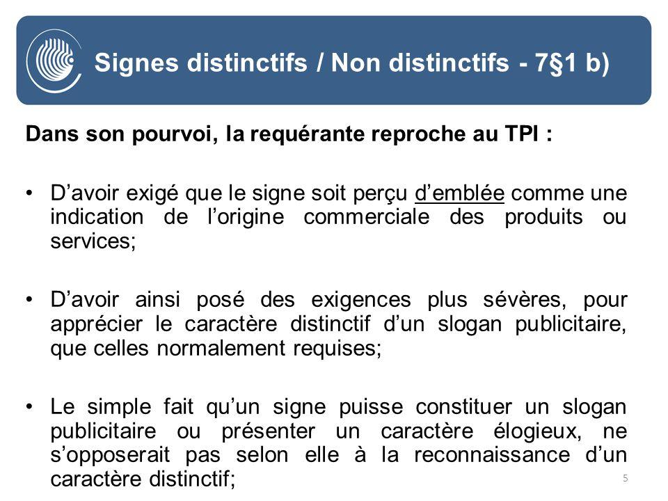 36 Signes descriptifs - 7§1 c) B – Signe descriptifs (art.