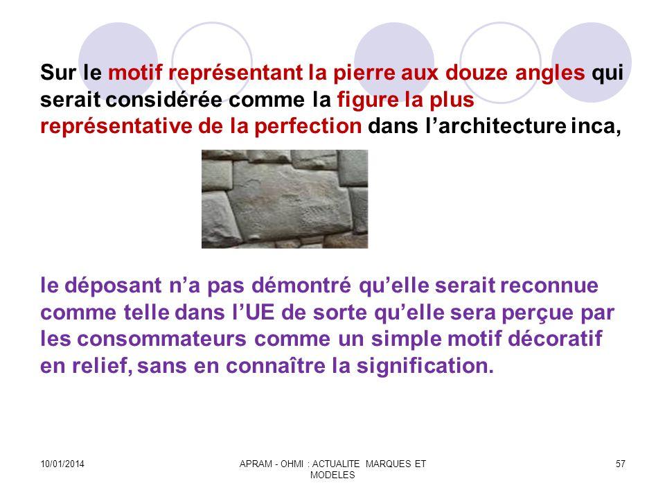 Sur le motif représentant la pierre aux douze angles qui serait considérée comme la figure la plus représentative de la perfection dans larchitecture