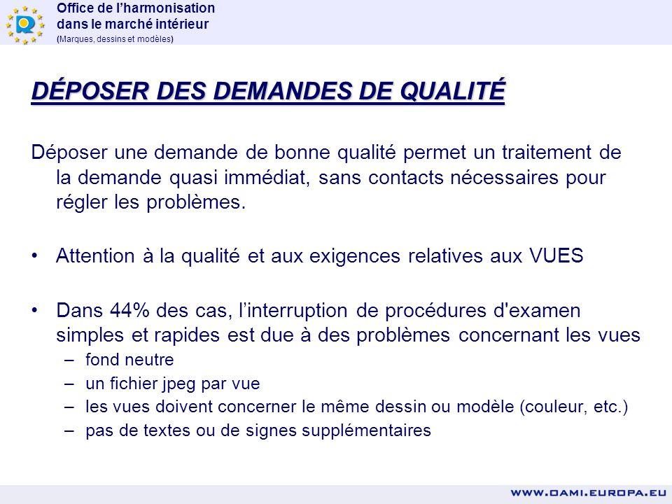 Office de lharmonisation dans le marché intérieur (Marques, dessins et modèles) 2008: Globalement: 47% Allemagne: 45 % États-Unis: 27 % Italie: 48 % P