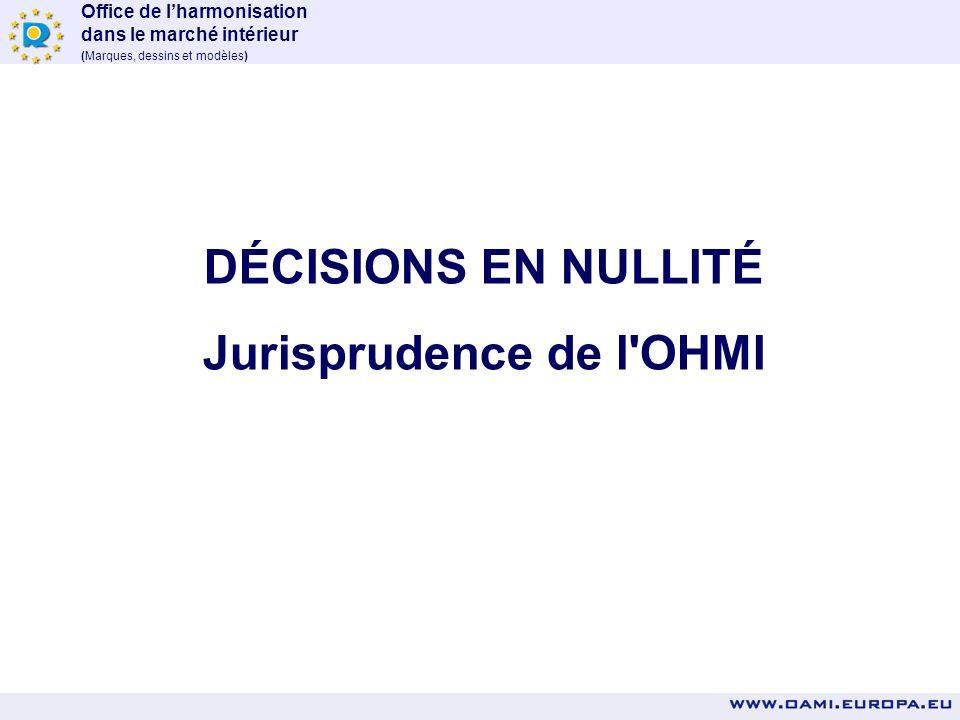 Office de lharmonisation dans le marché intérieur (Marques, dessins et modèles) AUX PROFESSIONNELS DE LA PI DE JOUER L'OHMI propose une procédure d'en