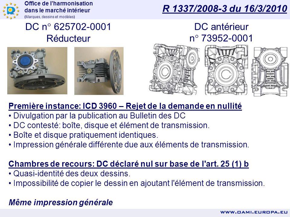Office de lharmonisation dans le marché intérieur (Marques, dessins et modèles) DÉCISIONS EN NULLITÉ Jurisprudence de l'OHMI