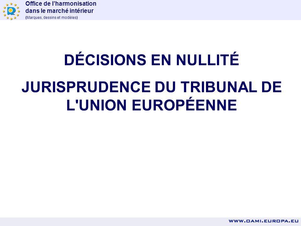 Office de lharmonisation dans le marché intérieur (Marques, dessins et modèles) Tribunal de Milan, concurrence déloyale, DC G-Star demandait la condam