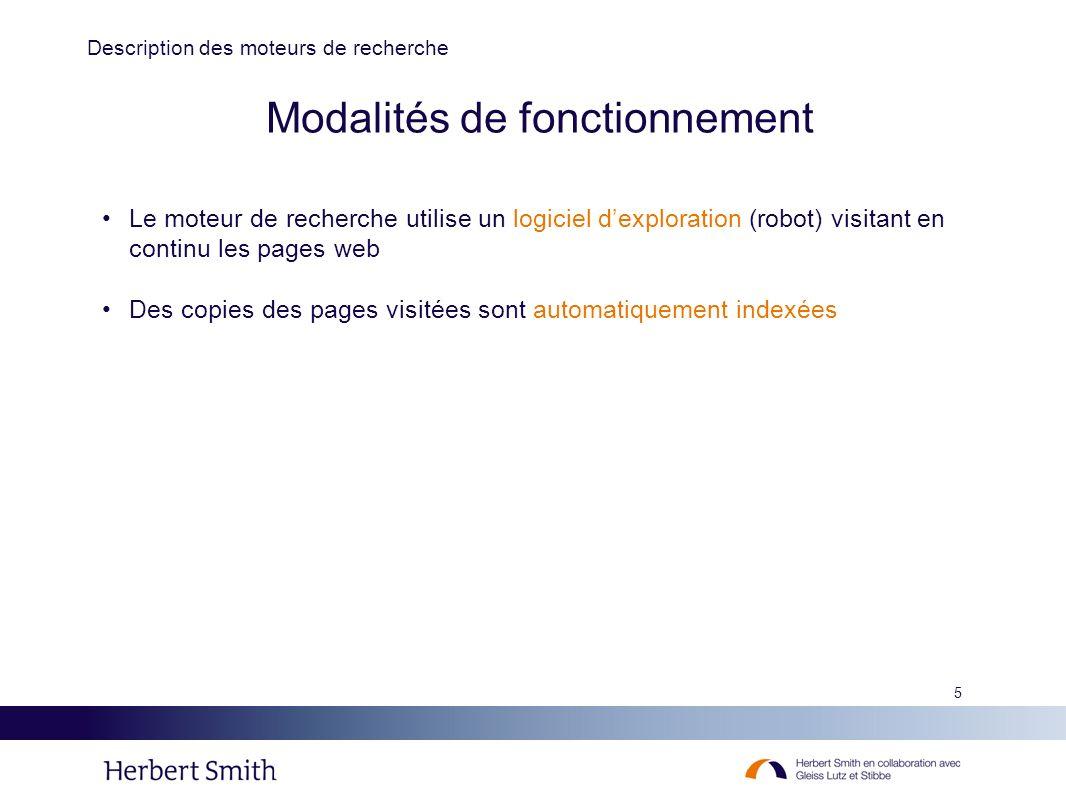26 Conclusion Les moteurs de recherche sont parfois conduits à reproduire, soit à des fins techniques, soit dans un but d information, des contenus pouvant faire l objet de droits de propriété intellectuelle.