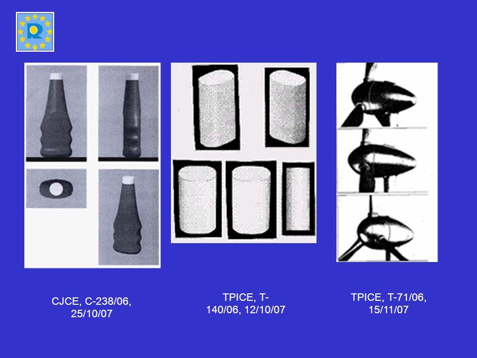 CJCE, C-238/06, 25/10/07 TPICE, T- 140/06, 12/10/07 TPICE, T-71/06, 15/11/07