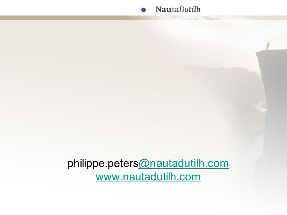 philippe.peters@nautadutilh.com www.nautadutilh.com@nautadutilh.com www.nautadutilh.com