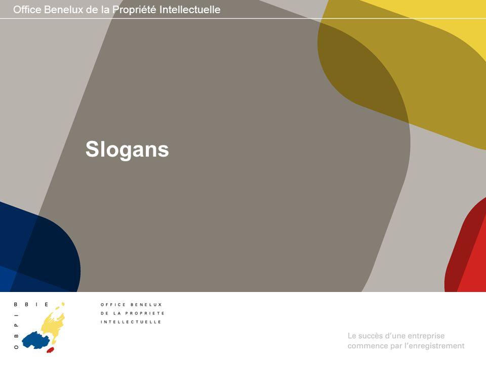 Office Benelux de la Propriété Intellectuelle Slogans