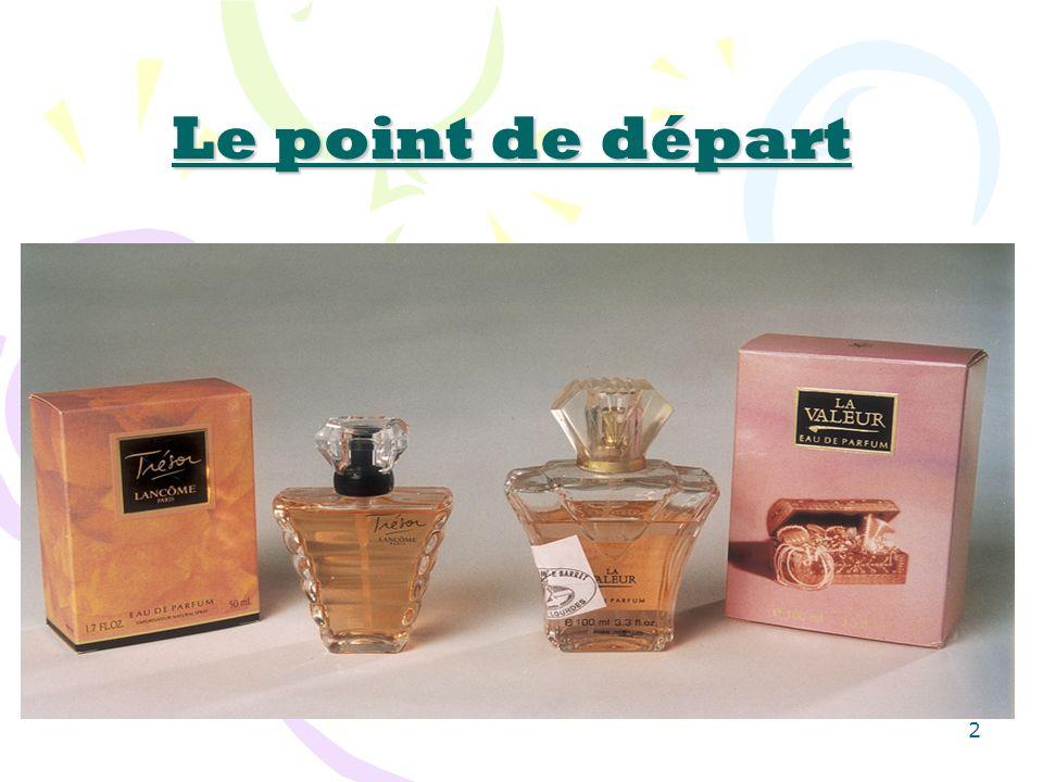 23 150 à 200 lancements de nouveaux parfums par an.