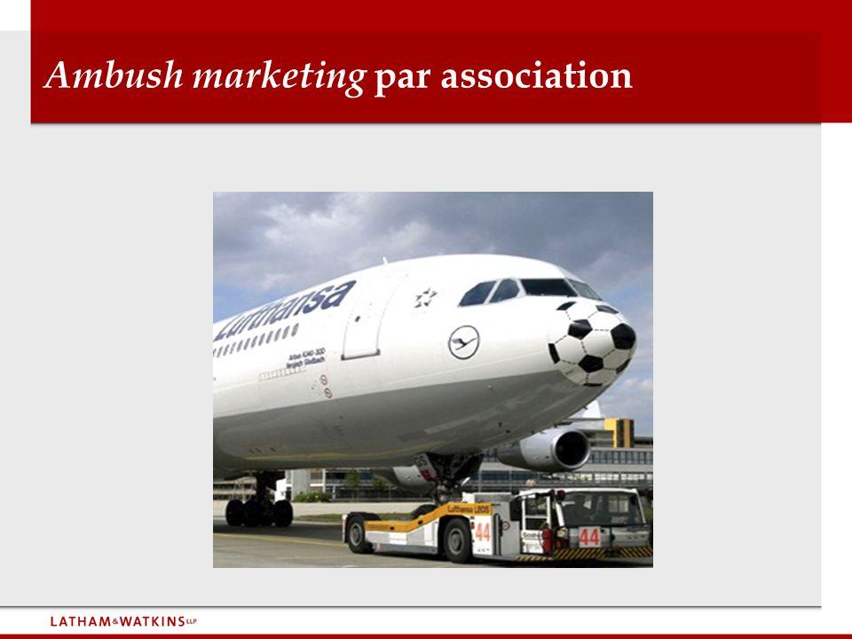 Ambush marketing par association