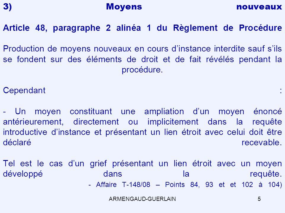 MERCI DE VOTRE ATTENTION Stéphane Guerlain ARMENGAUD - GUERLAIN 12, avenue Victor Hugo - 75116 Paris Tel 33 (0)1 47 54 01 48 Fax 33 (0)1 40 54 78 57 http://www.armengaud-guerlain.com 36