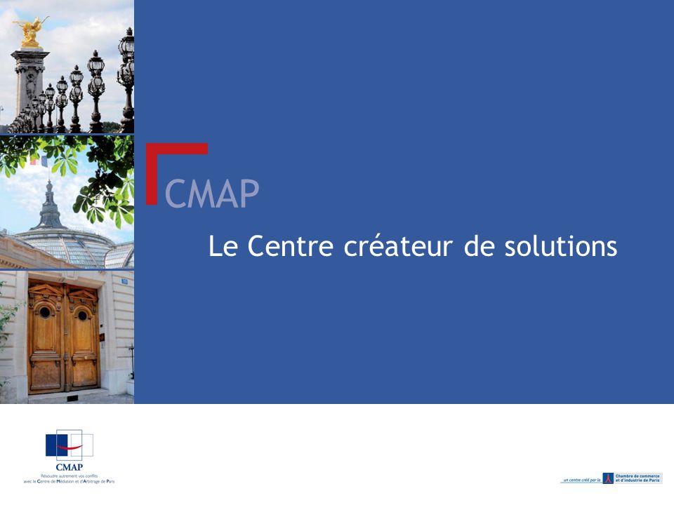 CMAP Le Centre créateur de solutions