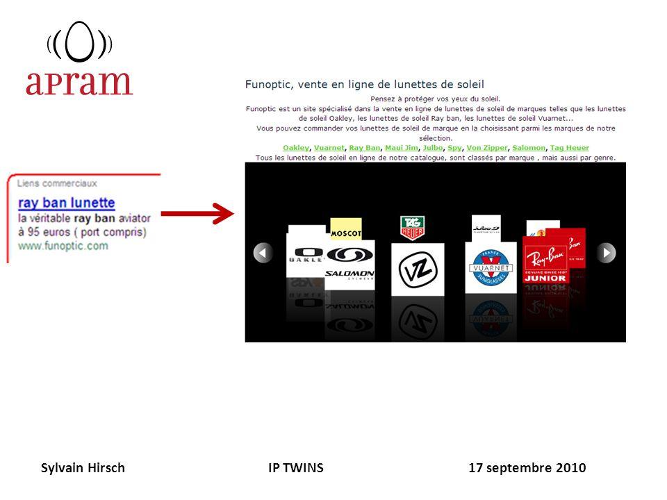Sylvain Hirsch IP TWINS 17 septembre 2010