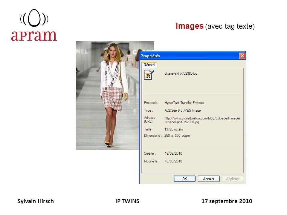 Sylvain Hirsch IP TWINS 17 septembre 2010 Images (avec tag texte)