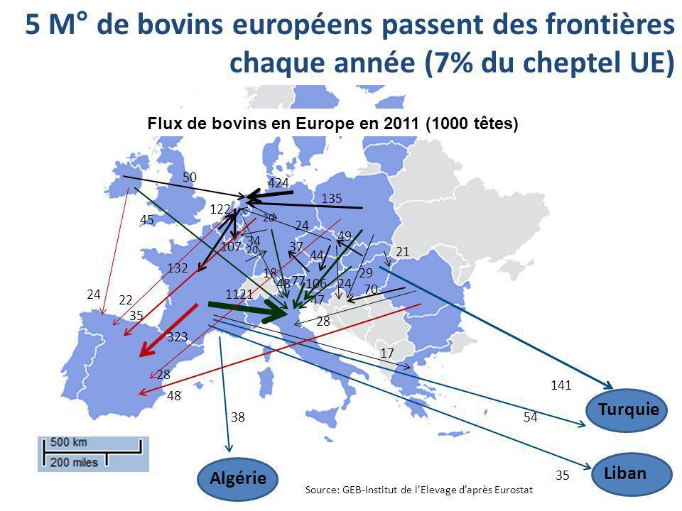 Source: GEB-Institut de lElevage daprès Eurostat 1121 323 54 20 35 38 17 18 107 22 132 20 48 34 424 35 135 28 48 24 70 141 50 24 45 44 24 106 29 47 21