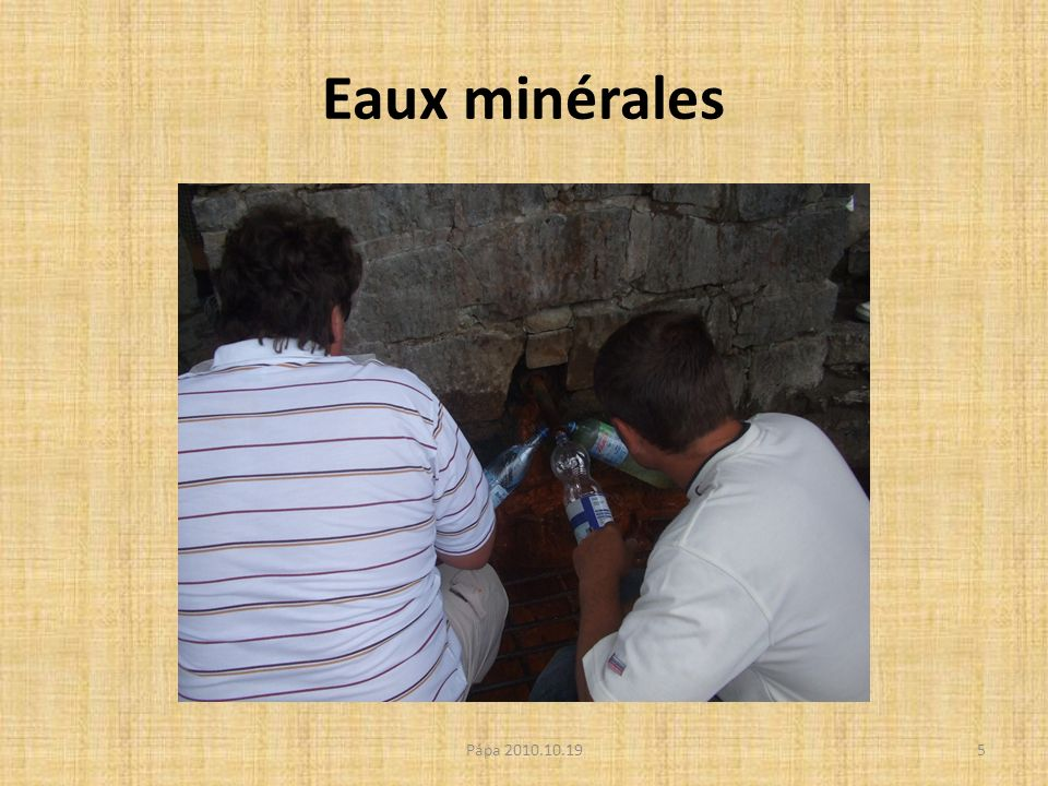 Eaux minérales 5Pápa 2010.10.19