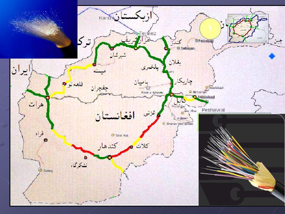 دافغانستان د نوری فایبر کېبل د حلقوی شبکې پروژه ۱