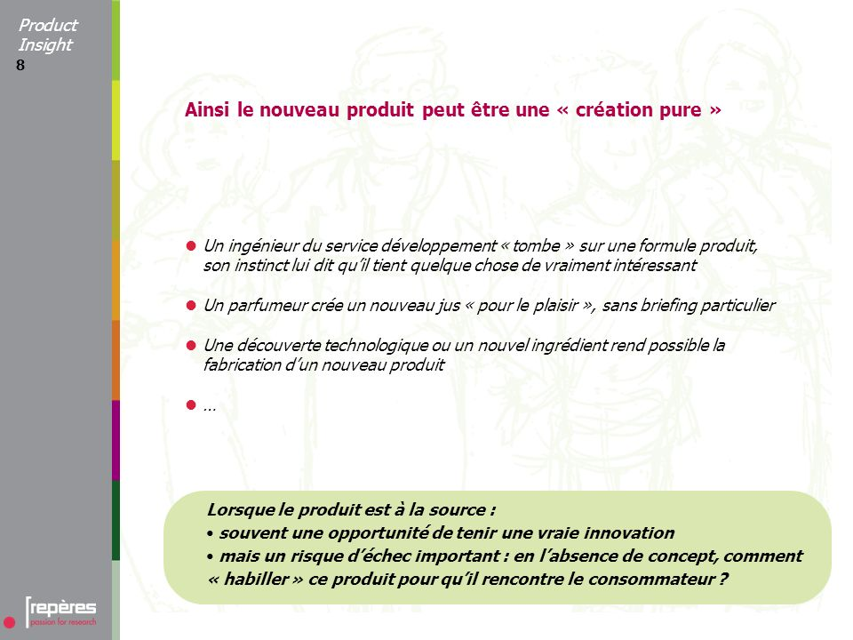 9 Laccompagnement de linnovation par Product Insight Du produit au concept Product Insight ®