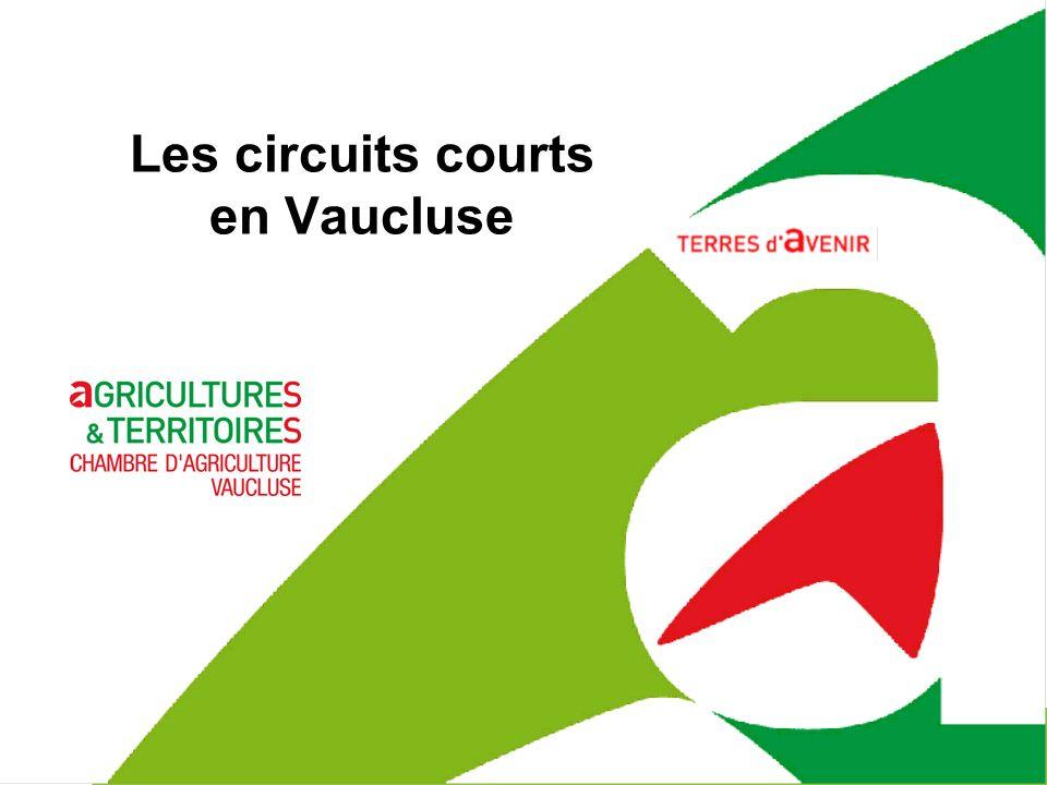 janvier 14 Les circuits courts en Vaucluse