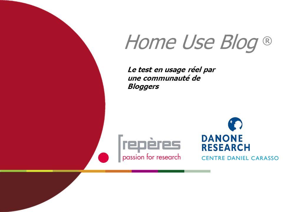 12 Une double immersion du produit d innovation Dans un Blog communautaire Dans le vécu personnel, concret Home Use Blog (HUB) HUB : Un test de l innovation en live Un suivi en direct et interactif Un forum de discussion équipe cliente/institut