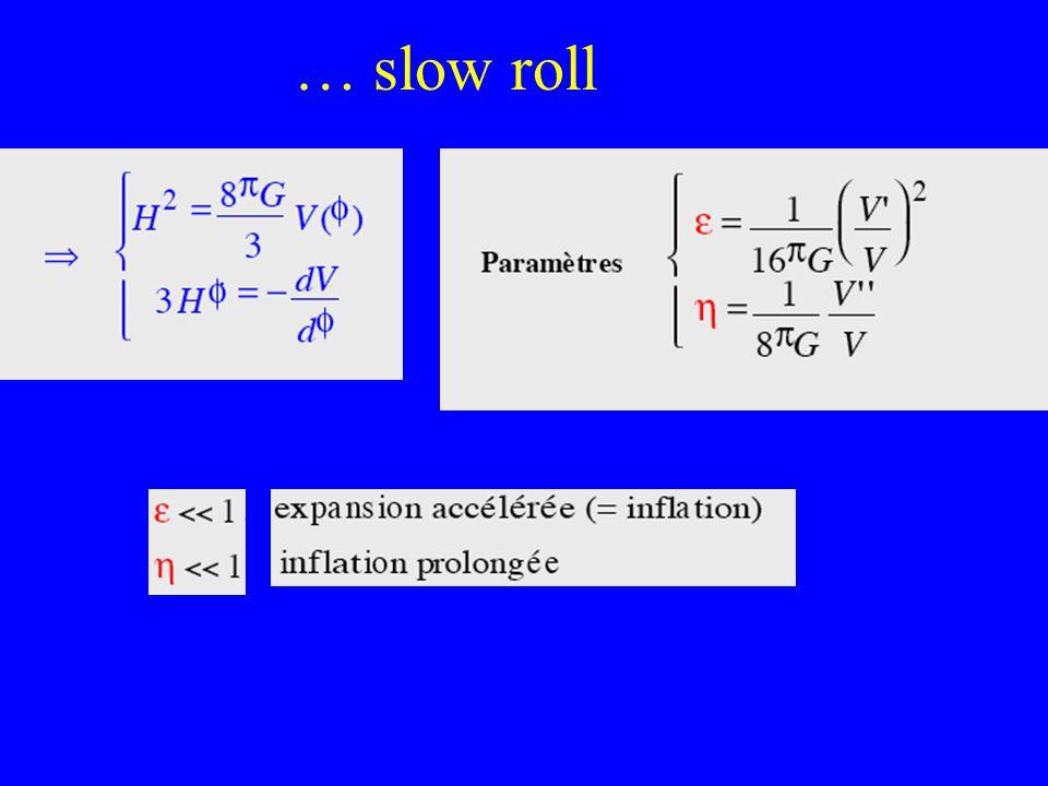 … slow roll