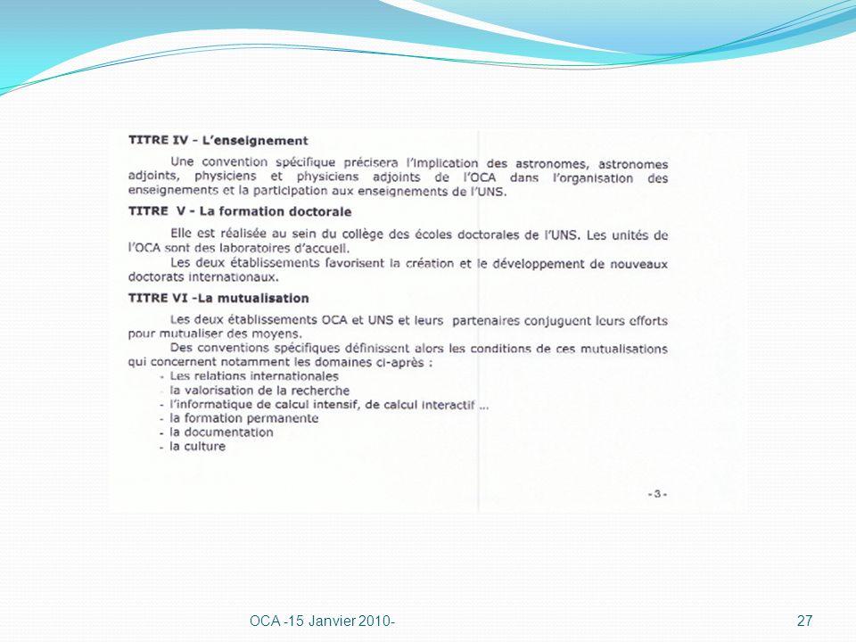 OCA -15 Janvier 2010-27
