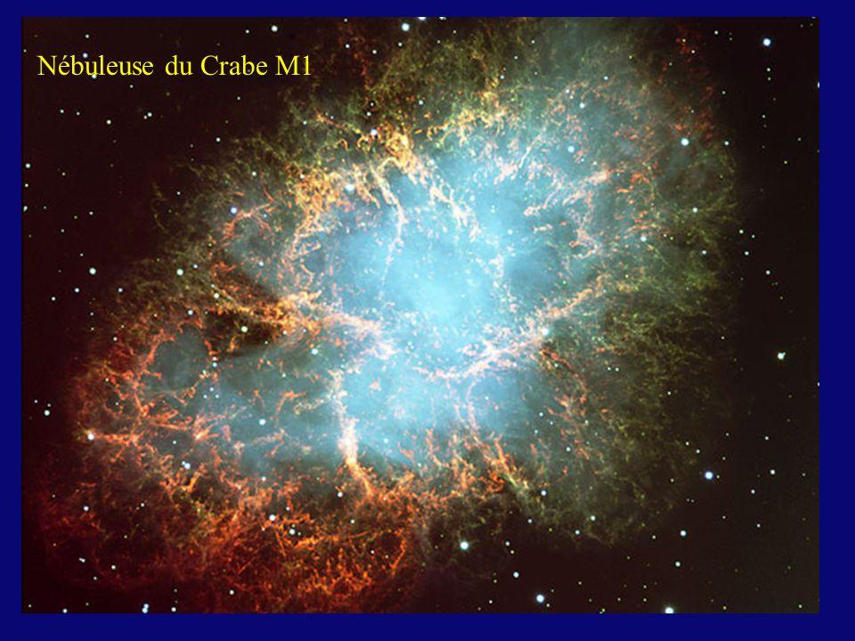 Nébuleuse du Crabe M1