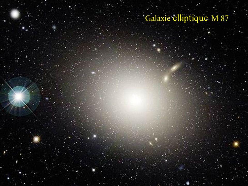 Galaxie elliptique M 87