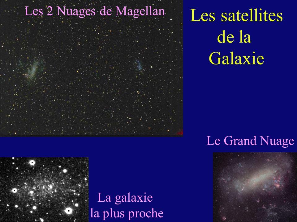 Les 2 Nuages de Magellan Le Grand Nuage La galaxie la plus proche Les satellites de la Galaxie