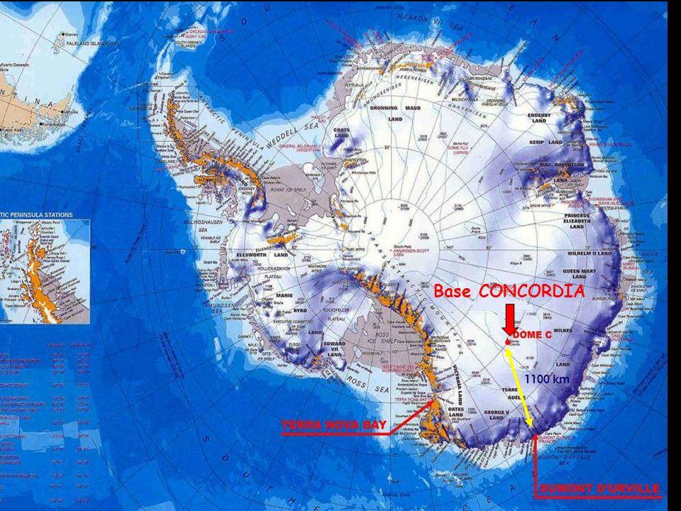 La base franco-italienne Concordia Capacité : 18 places en hiver 199920002002