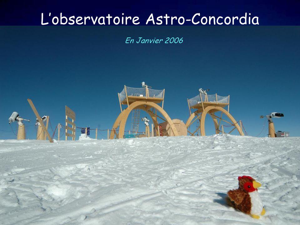 Lobservatoire Astro-Concordia En Janvier 2006