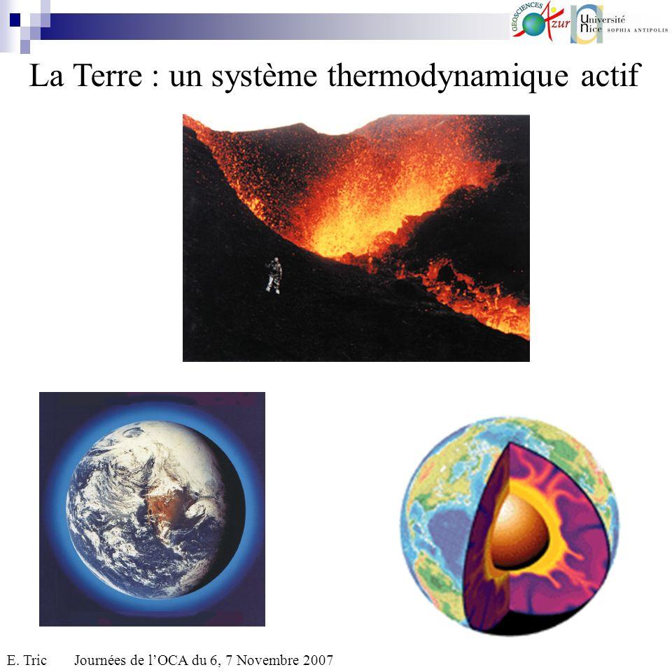 Une structure gazeuse : latmosphère.