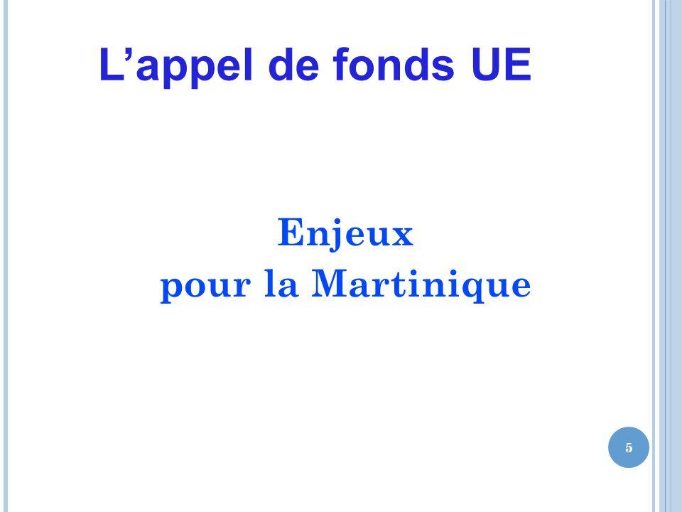 Lappel de fonds UE Enjeux pour la Martinique 5