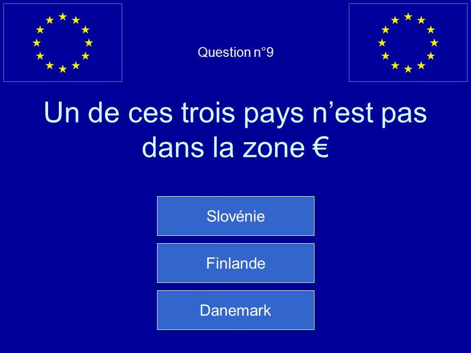 Mauvaise réponse… Cest Victor Hugo qui a utilisé lexpression « Etats-Unis dEurope » Question suivante