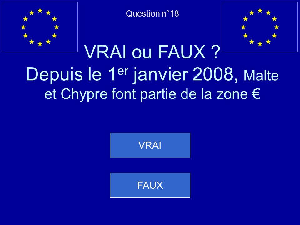 Mauvaise réponse… lEspagne est devenue membre de lUE en même temps que le Portugal Question suivante